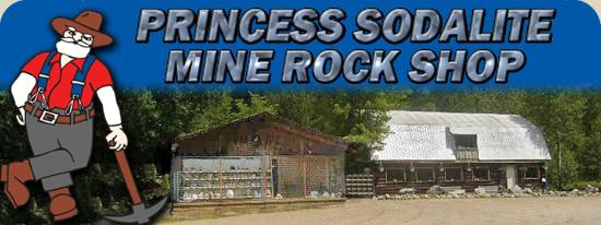 Princess Sodalite Mine Rock Shop