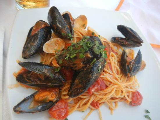 Ristorante Da Peppino: massa com frutos do mar