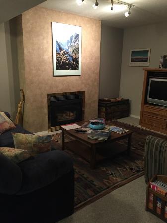 Arbor Bed and Breakfast: Gäste-Aufenthaltsraum