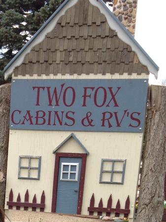Two fox cabins