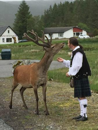 Discover Scotland Tours : Brian our Guide & Driver & one of the locals