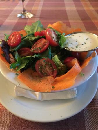 The Grill - Legendary King Edward Hotel : Garden Salad