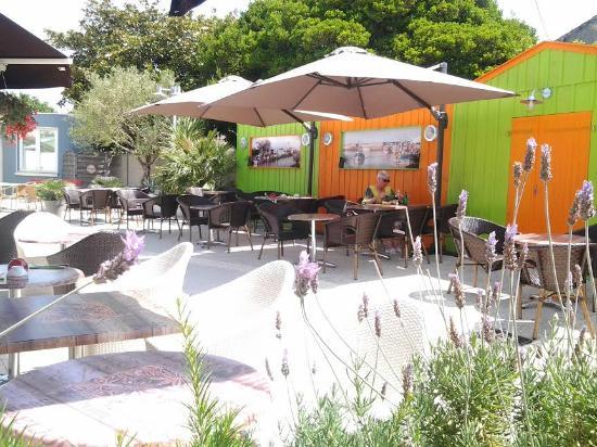 Clementine : nouveau décor sur la terrasse ..façon cabane ostréicoles