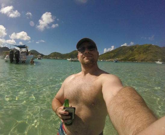 Oyster Pond, St-Martin/St Maarten: Pinel Island