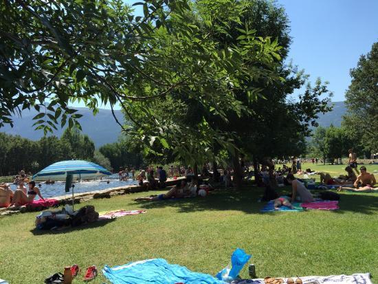 Fotograf a de las presillas piscinas naturales for Piscinas naturales de rascafria