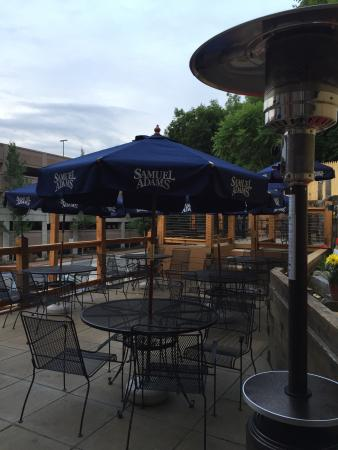 84 court St Pizza and Restaurante: New and renovated patio.