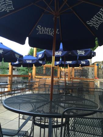 84 court St Pizza and Restaurante : New and renovated patio.
