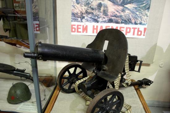 Shenkursk, Rosja: Пулемет Максим