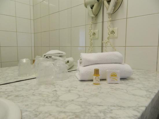 Hotel Ours Blanc Place Victor Hugo : SALLE DE DOUCHE/BAIN