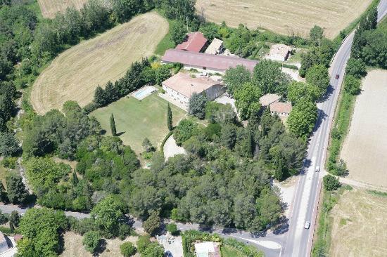 Domaine de Saint-Clement: Aerial view Domaine de Saint Clement