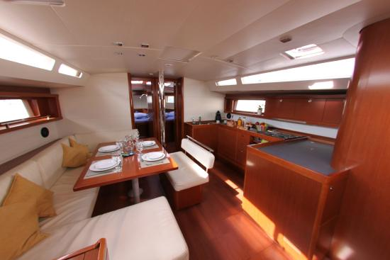 Sailing yacht Jackpot interior - Picture of YachtSailing gr