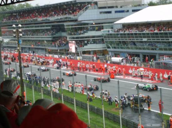 Monza : Largada. 1ª vitória de Vetel na carreira