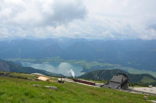 Landhaus zu Appesbach: Steam train on the Shaffberg