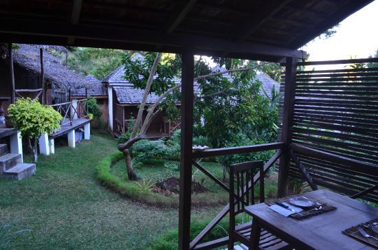 Hotel Benjamin: le jardin