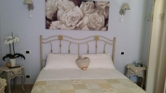 Camera da letto in stile Shabby curata nei minimi dettagli - Foto di ...
