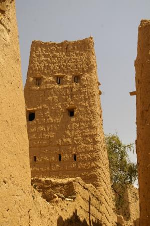 Nejran, Saudi-Arabien: strada