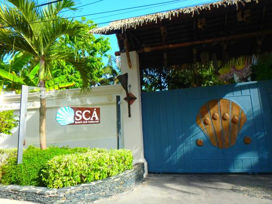 Sca Beach Club Restaurant: sca beach