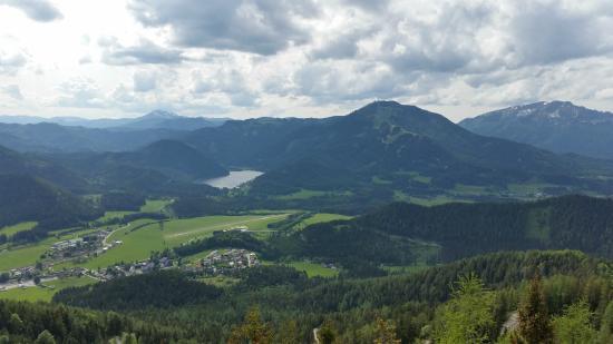 Mariazell, Österreich: Вид с вершины