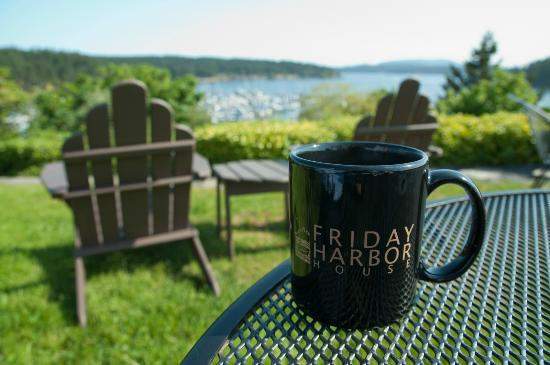 Friday Harbor House : Morning View