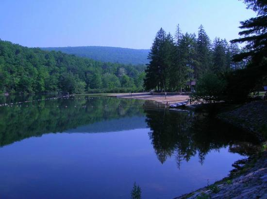 Greenwood Furnace State Park: Greenwood in July 2014