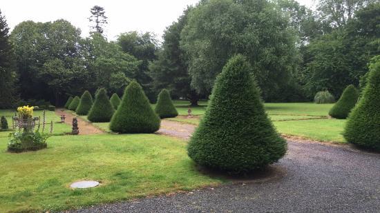 Le Breuil-en-Bessin, Francia: Garden