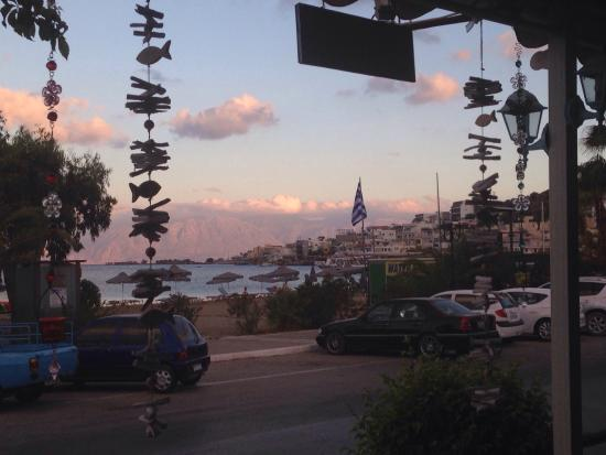 Cypriana Taverna & Meze House: Beautiful food and lovely view! ��