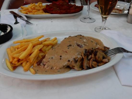 Restaurant Can Pepes : entrecote