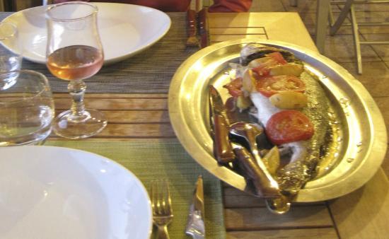 Bungalows du Maquis: AMAZING dinner!