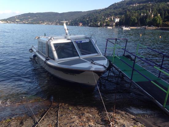 Бавено, Италия: Summer Boats