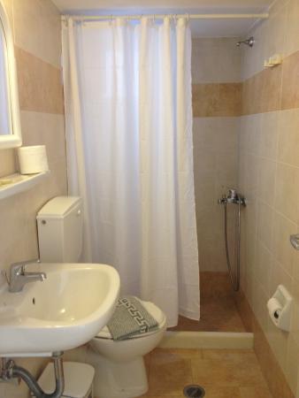 Anna Platanou Hotel & Suites: Bagno