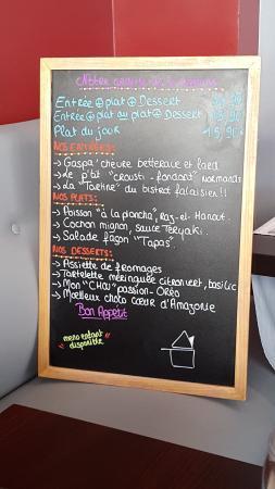Restaurant Le Vauquelin Falaise Menu