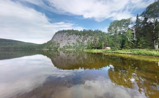 Riviere-A-Pierre, Canada: Cap du lac Bellevue
