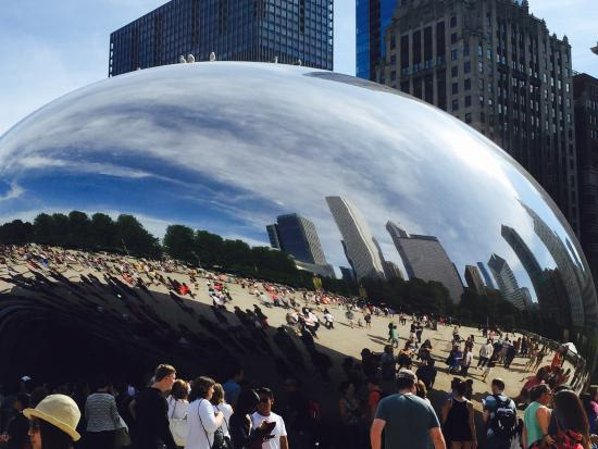 Picture of cloud gate chicago tripadvisor for Table 52 chicago tripadvisor