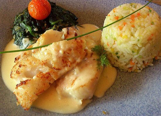 Restaurant at the Landhotel Golf Hotel: Interlaken - Landhotel Golf - good food