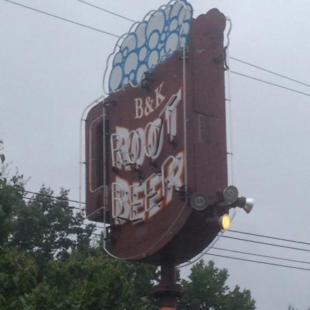B-K Rootbeer Drive In: B-K pictures