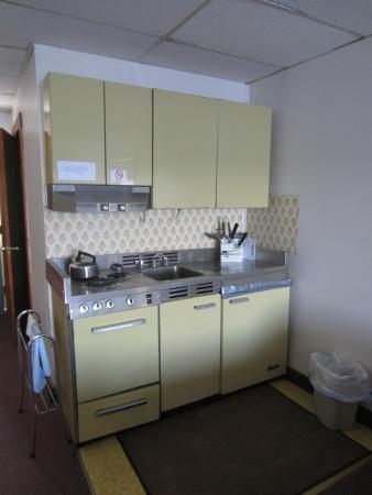 "Edgewater Resort: Efficiency #14 - ""complete kitchenette"""