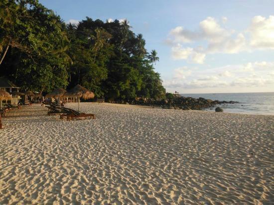 เชิงทะเล , ไทย: Praia do hotel
