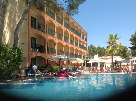 vue de la chambre - Picture of Valentin Paguera Hotel ...