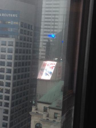 Hilton Times Square: Adorei a vista do quarto