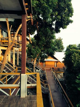 Phitharom Phi Phi Resort: Bungalow's