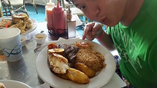 Fish Fry's : Frankie Gone Bananas- Ribeye & Lobster = $32