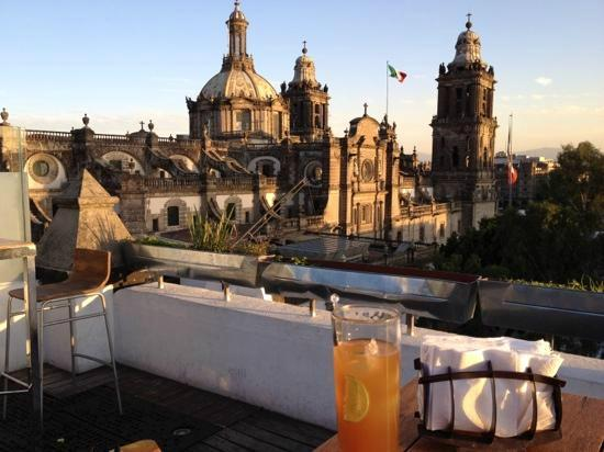Hostel Mundo Joven Catedral: Terraza