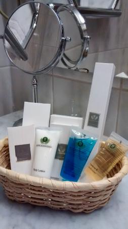 Hotel Djingis Khan: nice accesoires in bathroom