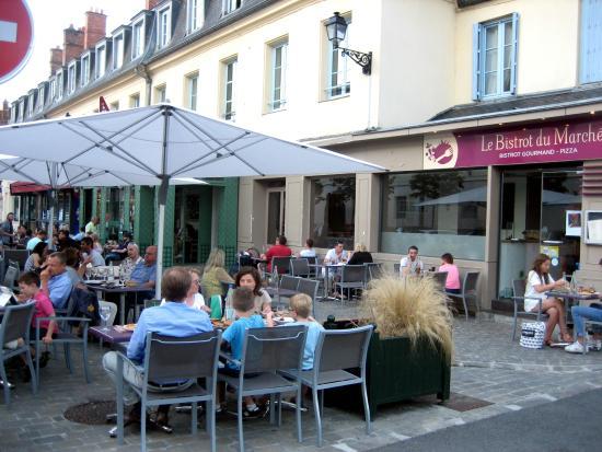 Restaurant Place Marie Roux Rambouillet