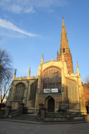 ‪‪Coventry‬, UK: Holy Trinity Church‬