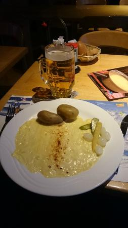 Grund: Raclette com picles