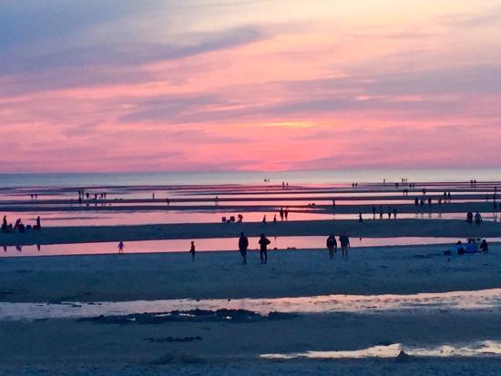 Skaket Beach Sunset At Low Tide
