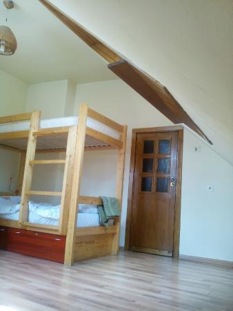 Home Made House: Living room