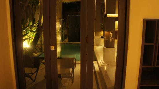 View From Room Picture Of Ahimsa Beach Resort Jimbaran Tripadvisor