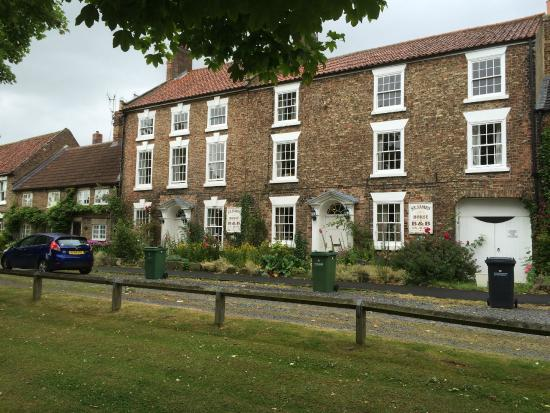 St James House: A B&B in a beautiful building is a lovely old Market Town